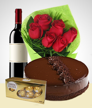 Chocolates - Super Combo Rosas y Amores