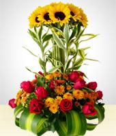 Envio De Flores Arreglos Florales Ambato - Adornos-florales