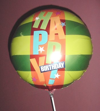 Globos - Globo Metálico Grande - Happy Birthday
